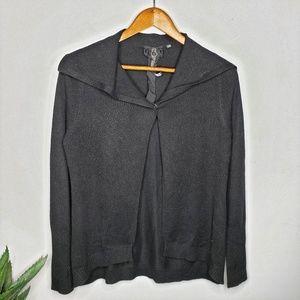 Poleci Silk & Cashmere One Button Cardigan